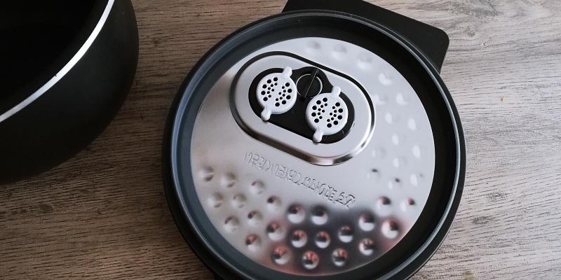 内蓋蒸気口フィルター