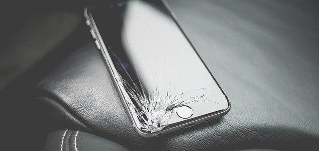 ガラスは集中的な衝撃に弱い