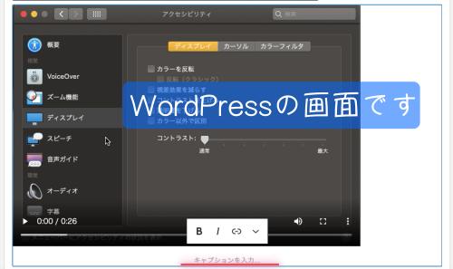 動画アップロード成功 コクーン